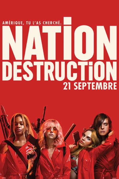 Affiche - Nation Destruction