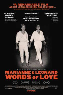 Poster - Marianne & Leonard : Words of Love