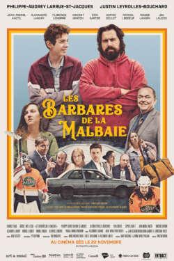Poster - Les Barbares de la Malbaie