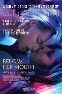 Poster - Below her mouth
