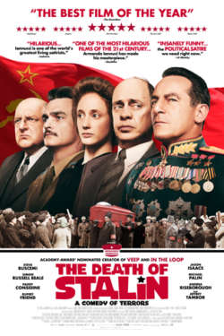 Poster - The death of Stalin