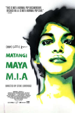 Poster - Matangi Maya M.I.A.