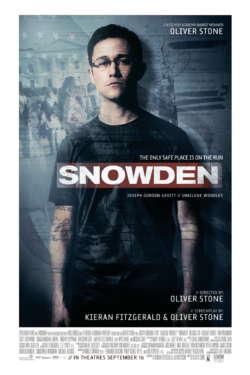 Poster - Snowden